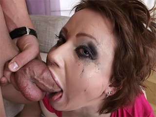 Wife swallows friend cum